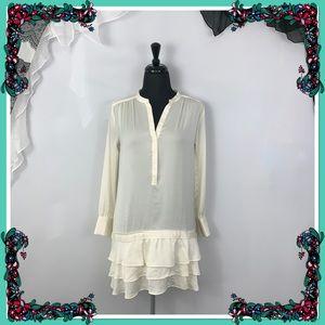 Banana Republic Long Ecru Tunic/Dress - Size 0